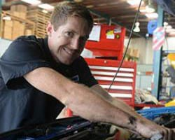 Mechanic at work - Vehicle service