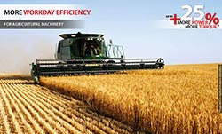 Increase the performance of your farm machinery