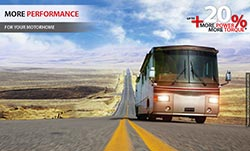 Increase the performance and fuel effiency of your motorhome